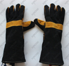 Heat-resisitant leather welding hand protection glove