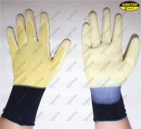 Safety PU coated workinganti static gloves for inspection