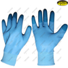 Anti slip polyester foam latex industrial hand protective gloves