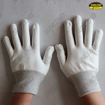 13G HPPE cut resistant gloves liner