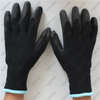Thermal acrylic fleece + polyester shell 3/4 coated black foam + sandy PVC glov