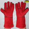 Hand Protection Heat Resistant Cow Split Work Safety Gloves