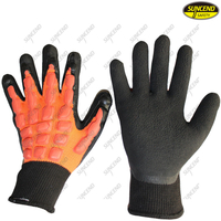 Anti vibration shock proof mechanics working gloves