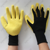 Polyester/nylon Liner Foam Latex Coated Work Gloves