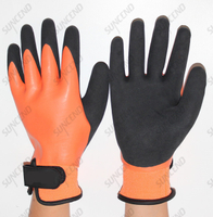 Cold Weather High-Vis Hand Protection with ANSI A2 Cut Resistance Winter Glove