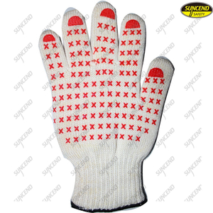 Food grade heat resistant grilling BBQ cooking gloves