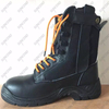High cut graincow leather waterproof boots safety shoes