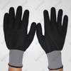 Multipurpose Seamless Knitting Nitrile Full Coated Sandy Finish Safety Gloves