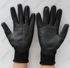 Black U3 Liner Smooth Pu Coating Anti Static Esd Work Glove