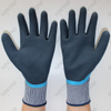 Double Nitrile Coated Palm And Thumb Reinforced Work Gloves
