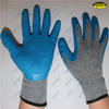 Crinkle finish latex coated good grip safety working gloves