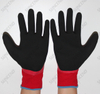 15 Gauge Polyester Seamless Knit Latex Fully Coated Work Glove