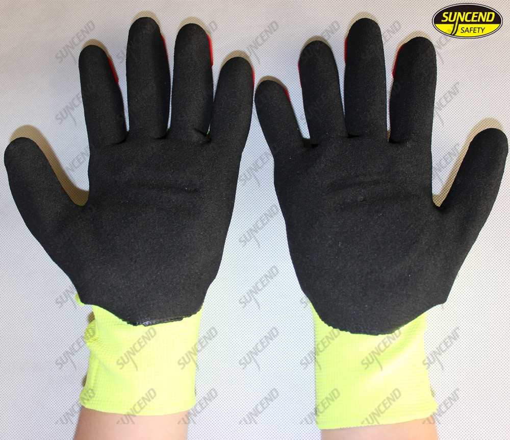 TPR Protection High Impact Anti Cut Resistant Gloves