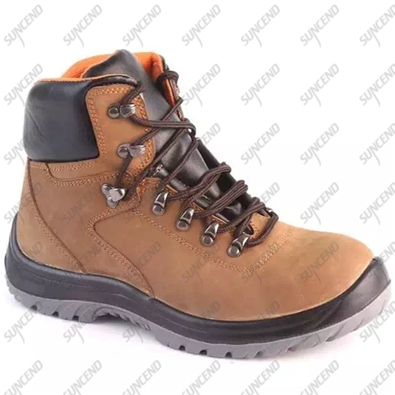 Working security footwear steel toe woodland ESD safety men shoes