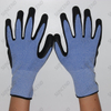 Sandy Nitrile Coated Work Glove with Nylon Liner