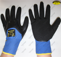 Nitrile double coated reinforced hand protective gloves