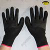 13G polyester/nylon liner TPE coated high impact gloves