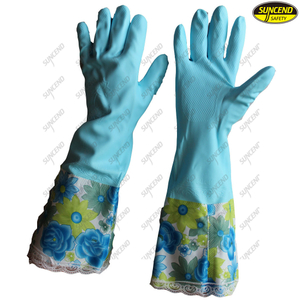 Cold resistant jersey liner warm household hand work gloves