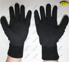 Seamless knitted nitrile sandy coated hand working gloves